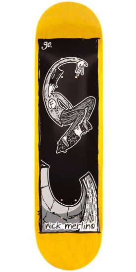 Foundation Merlino Go Skateboard Deck - 8.00""