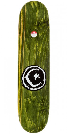 Foundation Star And Moon Comic Skateboard Complete - 8.0""
