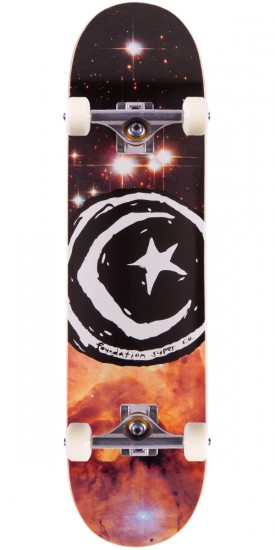 Foundation Star & Moon Galaxy II Skateboard Complete - 8.0""