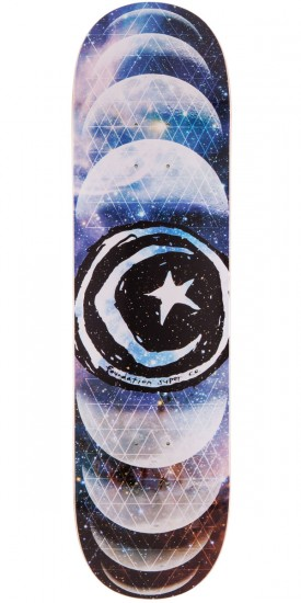 Foundation Star & Moon Phases Skateboard Deck - 8.25""
