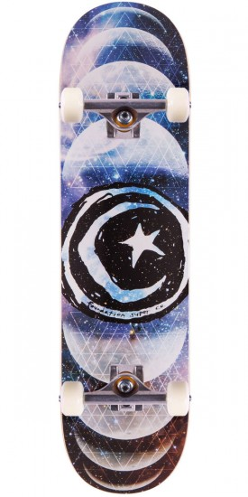 Foundation Star & Moon Phases Skateboard Complete - 8.25""
