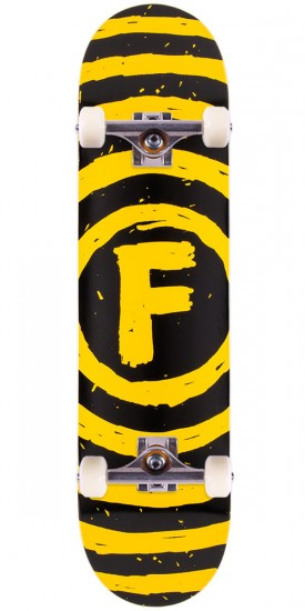 Foundation Vertigo Sketch Skateboard Complete - 7.75""