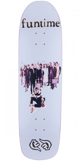 Funtime Yay Or Nay Skateboard Deck - 8.625""