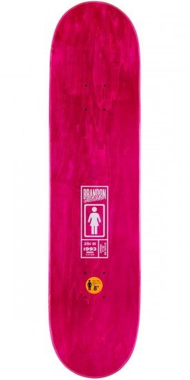 Girl Biebel One Off Skateboard Complete - 8.0""