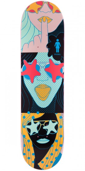 Girl Brandon Biebel Starstruck Skateboard Deck - 7.875""