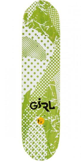 Girl Carroll Candy Flip Skateboard Deck - 8.00""
