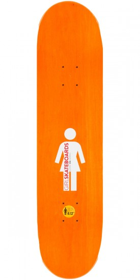 Girl Carroll Giant OG Skateboard Complete - 8.125""