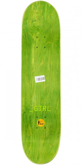 Girl Carroll Glitch Skateboard Complete - 8.125""
