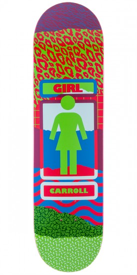 Girl Carroll Ripped OG Skateboard Deck - 8.125""