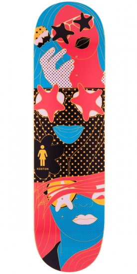 Girl Eric Koston Starstruck Skateboard Deck - 8.25""