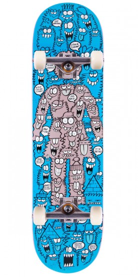 Girl Guy Mariano Lyons Monsters Skateboard Complete - 8.25""