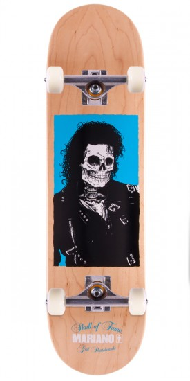 """Girl Guy Mariano Skull of Fame Skateboard Complete - 8.25"""" - Natural Stain"""