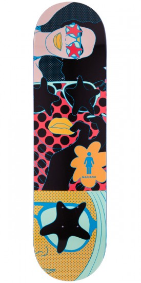 Girl Guy Mariano Starstuck Skateboard Deck - 8.125""