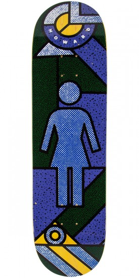 Girl Howard Framework Skateboard Deck - 8.5""