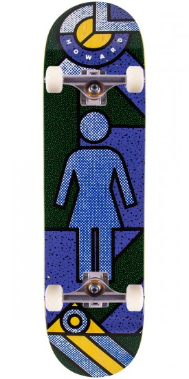 Girl Howard Framework Skateboard Complete - 8.5""