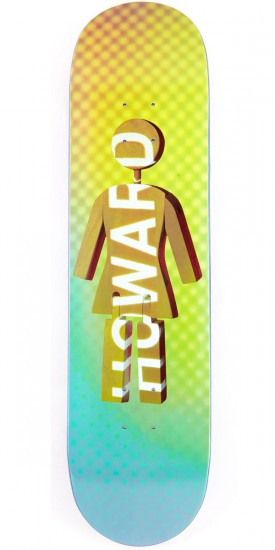 Girl Howard Future Projections Skateboard Deck - 8.25""