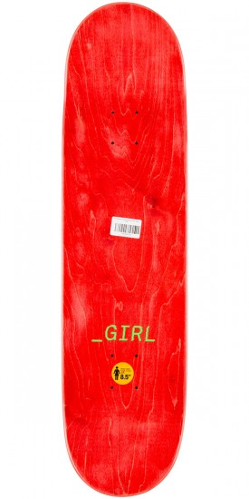 Girl Howard Glitch Skateboard Deck - 8.5""