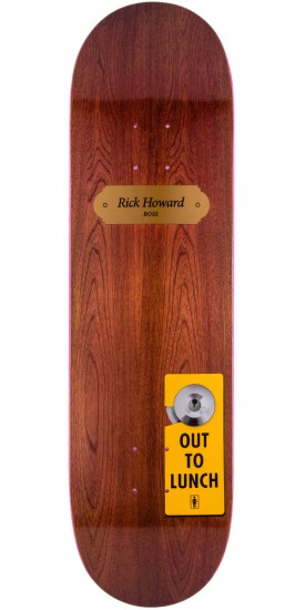 Girl Howard One Off Skateboard Deck - 8.375""