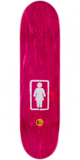 Girl Howard Post No Bills Skateboard Deck - 8.375""