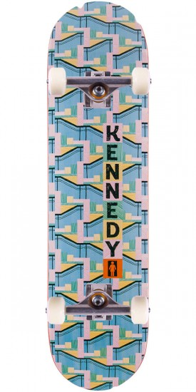 Girl Kennedy LA 8 Skateboard Complete - 8.0""
