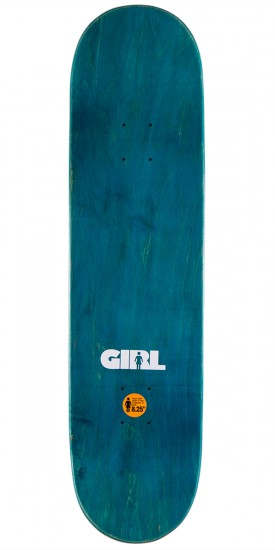 Girl Koston Advertype Skateboard Complete - 8.25""