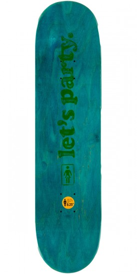 Girl Koston Party Girls Skateboard Deck - 8.25""