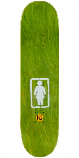 Girl Koston Post No Bills Skateboard Complete - 8.25""