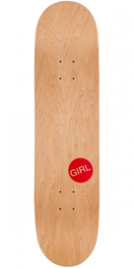 Girl Malto One Off Skateboard Deck - 8.125""