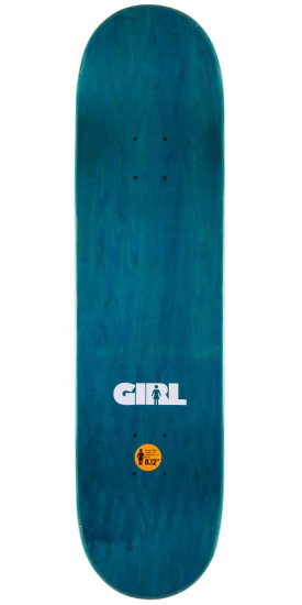 Girl Mariano Advertype Skateboard Complete - 8.125""