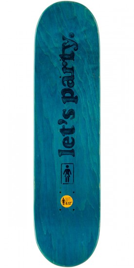 Girl Mariano Party Girls Skateboard Complete - 8.125""