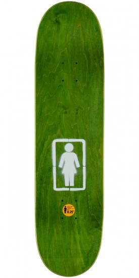 Girl Mariano Post No Bills Skateboard Complete - 8.25""