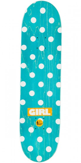 Girl McCrank Blocked OG Skateboard Deck - 8.375""