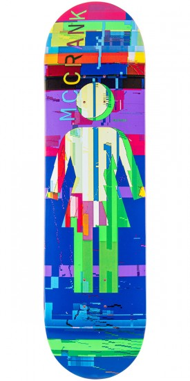 Girl McCrank Glitch Skateboard Deck - 8.375""