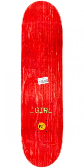 Girl McCrank Glitch Skateboard Complete - 8.375""