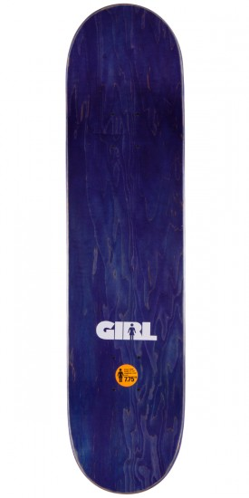 """Girl Mike Mo Advertype Skateboard Complete - 7.75"""""""