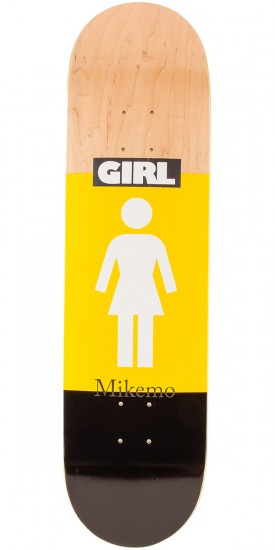 Girl Mike Mo Blocked OG Skateboard Deck - 8.25""