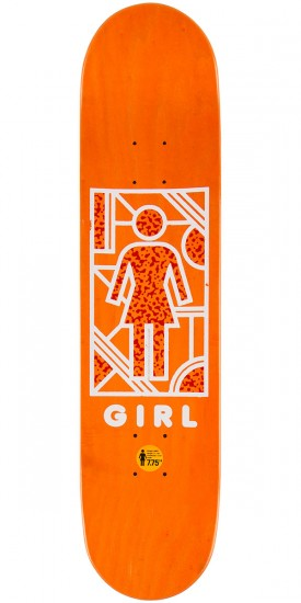Girl Mike Mo Framework Skateboard Deck - 7.75""