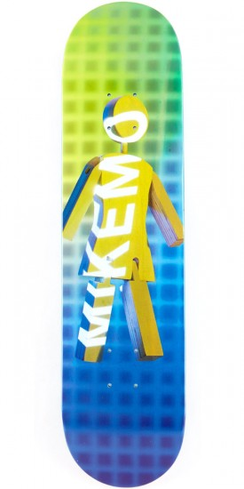 """Girl Mike Mo Future Projections Skateboard Deck - 7.75"""""""