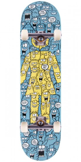 """Girl Mike Mo Lyons Monsters Skateboard Complete - 7.875"""""""
