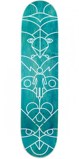 Girl Mike Mo Totem Skateboard Complete - 8.00""