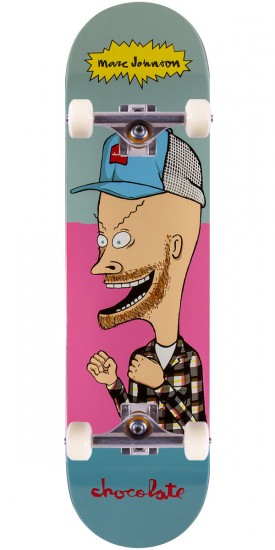 Chocolate MJ Beavis Skateboard Complete - 8.125""