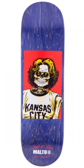 "Girl Sean Malto Skull of Fame Skateboard Deck - 8.125"" - Purple Stain"