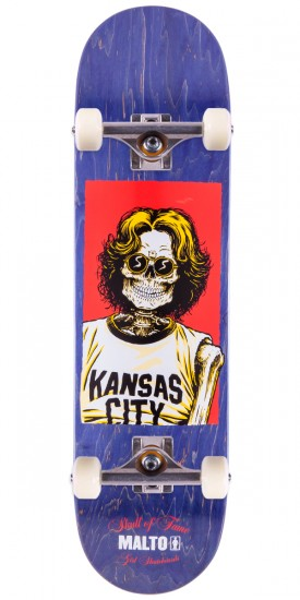 "Girl Sean Malto Skull of Fame Skateboard Complete - 8.125"" - Purple Stain"