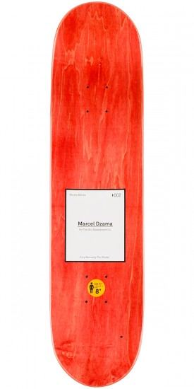 Girl Studio Series Marcel Dzama 4 Skateboard Deck - 8.0""