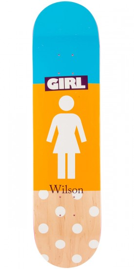 Girl Wilson Blocked OG Skateboard Deck - 8.0""