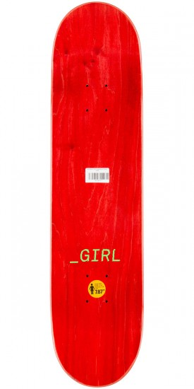 Girl Wilson Glitch Skateboard Complete - 7.875""