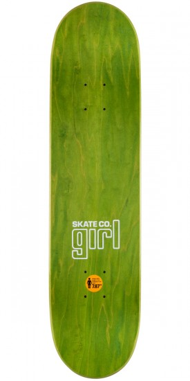 Girl Wilson One Off Skateboard Deck - 7.875""