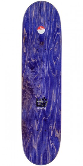 Habitat Delatorre Tooth and Claw Skateboard Complete - 8.25""