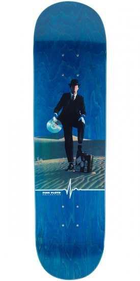 "Habitat Invisible Man Skateboard Deck - 8.125"" - Blue Stain"