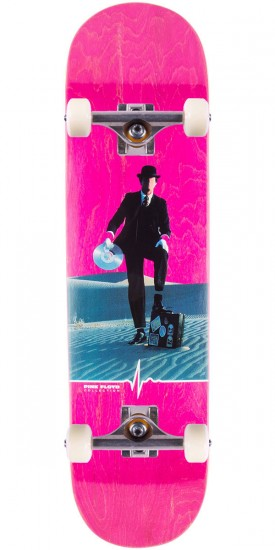 "Habitat Invisible Man Skateboard Complete - 8.125"" - Pink Stain"